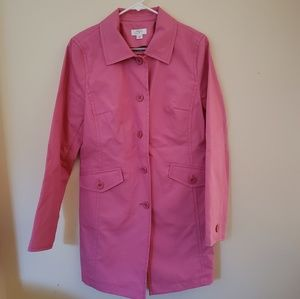Trench Coat/Jacket by Ann Taylor Loft
